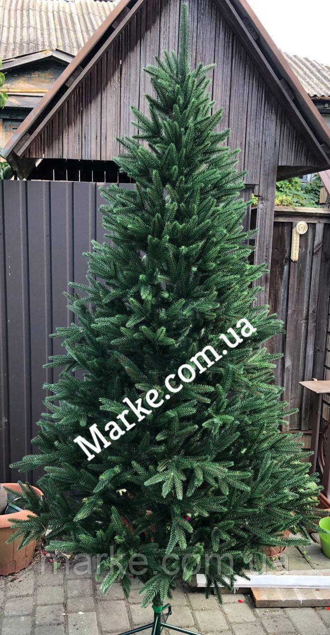 Ялинка Альпійська 1,8м лита штучна зелена пишна