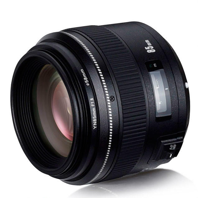 Об'єктив YONGNUO YN85mm F1.8N для Nikon (85 mm F 1.8)