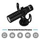 Спрямований накамерне мікрофон Yongnuo YN220 для камери (камери, смартфона), фото 2