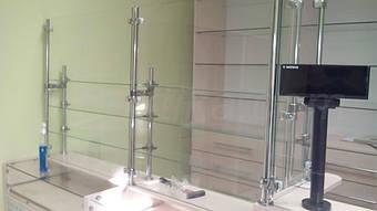 Капиллярный барьер из стекла и трубы круглого сечения, с использованием системы Jocker