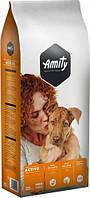 Сухой корм AMITY ECO Active сухой корм для взрослых собак с высокими нагрузками 20 кг