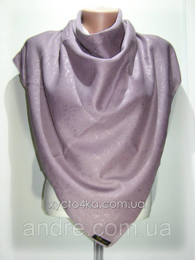 Кашемировый платок винтаж бежевый