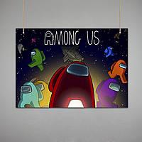 Постер: Among Us (Макет №2)