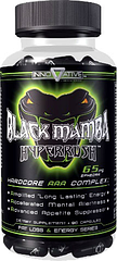 Innovative Diet Labs Жиросжигатель с геранью Блек Мамба Black Mamba 65 mg ephedran (90 caps)