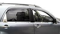 Daihatsu Terios 2006↗ гг. Наружняя окантовка стекол (4 шт, нерж.)