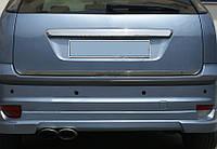 Ford Focus II 2008-2011 гг. Кромка багажника (HB, нерж.)