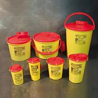 Контейнеры для сбора медицинских отходов и пакеты для утилизации