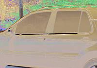 Mercedes ML W163 Наружняя окантовка стекол (4 шт, нерж) OmsaLine - Итальянская нержавейка