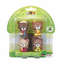 Набор игрушек для детей семья медведей Klorofil