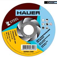 Круг шлифовальный по металлу, 125х6,0х22 Hauer