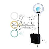 Кольцевая лампа для макияжа на штативе, 65 W (44 см)