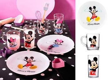 Набір посуду для хлопчика Luminarc Disney Colors Mickey 3пр