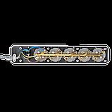 Сетевой электрический фильтр - удлинитель 6 розеток 4,5 м LP-X6 серый, фото 4