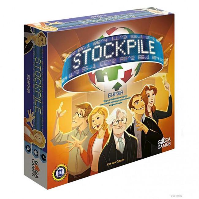 Настольная игра Stockpile (Биржа)