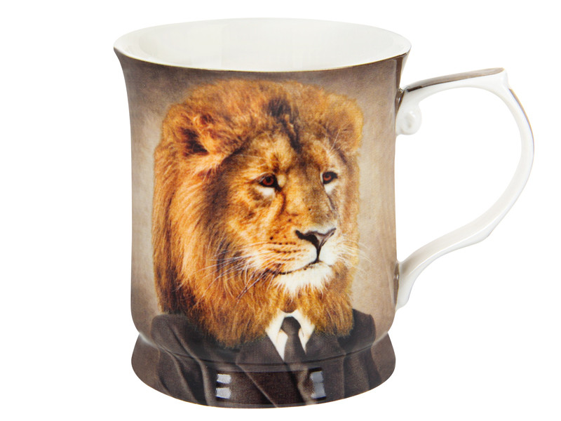 Чашка для чоловіка Лев 400мл
