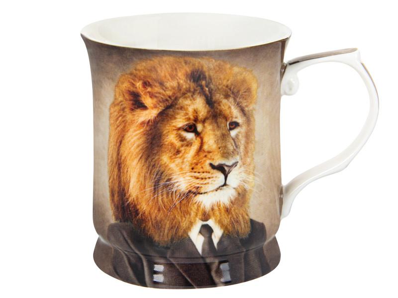 Чашка для мужчины Лев 400мл