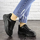 Женские кроссовки Fashion Rosco 1674 37 размер 22 см Черный, фото 4