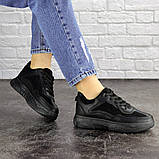 Женские кроссовки Fashion Rosco 1674 37 размер 22 см Черный, фото 5