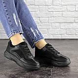 Женские кроссовки Fashion Rosco 1674 37 размер 22 см Черный, фото 6