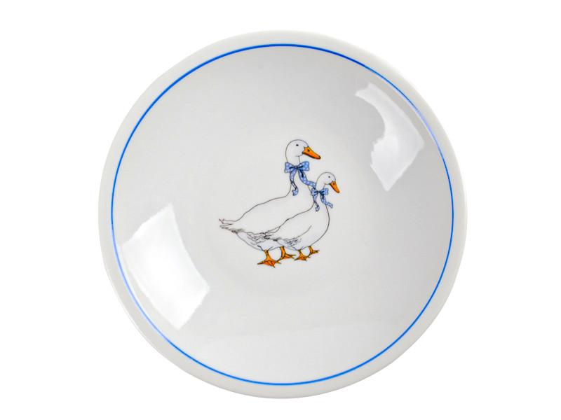 Глубокая тарелка Гуси Белоруссия 210мм