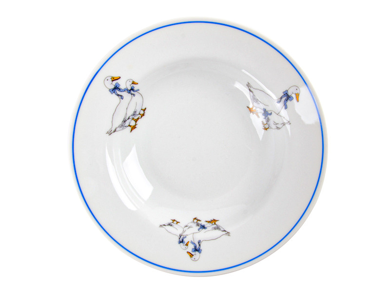 Глубокая тарелка Гуси Белоруссия 200мм