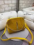 Клатч нат.замша/кожзам качество люкс/арт.2502-1, фото 2