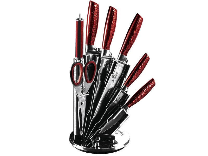 Ножи во вращающейся подставке Berlinger Haus 8пр