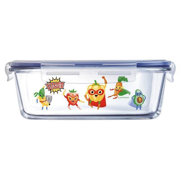 Дитячий ланч бокс прямоуг Luminarc Pure Box Active Vitamin 820мл
