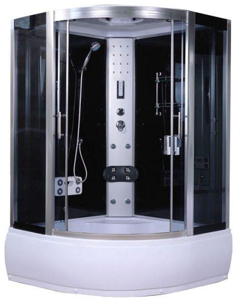 Гидромассажный бокс AquaStream Comfort 150 HB с гидромассажем в поддоне, 1500х1500х2170 мм