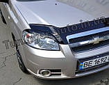 Вії на фари Chevrolet Aveo T250 2005-2012 (ANV), фото 2