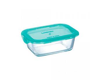 Прямокутний скляний посуд Luminarc Keepn Box 1220мл
