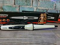 Плойка конусная Gemei GM 2815 для спиральной завивки волос