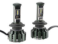 Светодиодные автомобильные лампы Turbo Led T6 H7 35W 3500LM 6000K (12358)