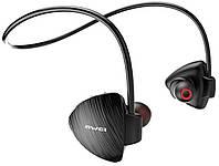 Спортивные Bluetooth наушники Awei A847BL Black (5252)