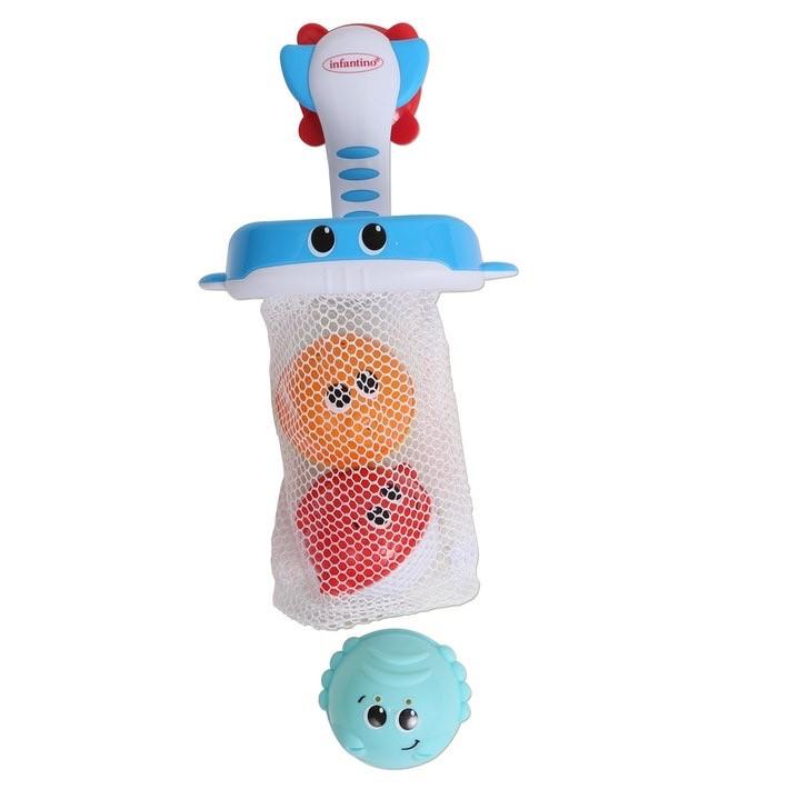 Infantino Набор для игры в воде Сачок и мячики