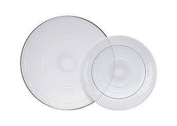 Набор тарелок с блюдом Luminarc Луиз 19/32см 7пр