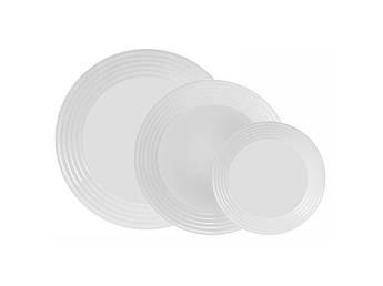 Набор белых тарелок Luminarc HARENA 18пр