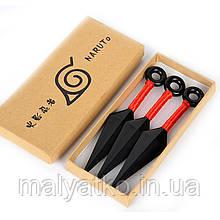 Набор кинжалов кунай Наруто, подарочная упаковка,13 см -  Kunai, Naruto, сosplay