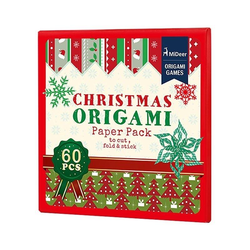 Набор для творчества из бумаги оригами Рождество Mideer