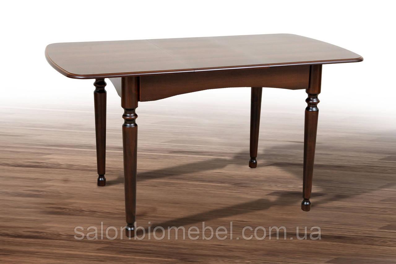 Стол деревянный раскладной Поло темный орех
