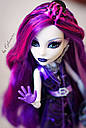 Кукла Monster High Спектра Вондергейст (Spectra) Ночная жизнь Монстер Хай Школа монстров, фото 4