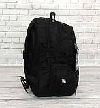 Вместительный ортопедический рюкзак. Черный. 35L / s6612 black, фото 7