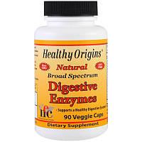 Энзимы Широкого Спектра Действия для Улучшения Пищеварения, Healthy Origins, 90 гелевых капсул