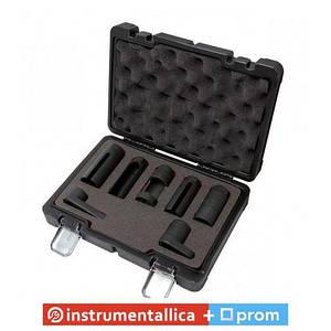 Набор головок для форсунок и датчиков 7 предметов 22, 27, 29 мм в кейсе Premium F-907G2D Forsage