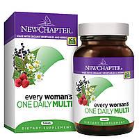 Щоденні Мультивітаміни для Жінок, Every woman's, New Chapter, 48 таблеток