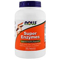 Супер Энзимы, Now Foods, 180 капсул