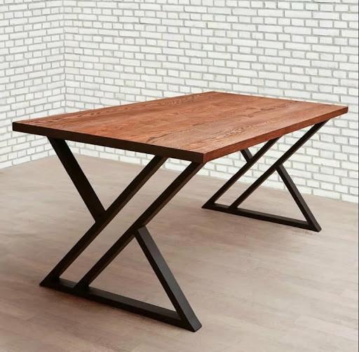 Обеденный кухонный стол в стиле Loft X (в гостинную бар ресторан кафе)