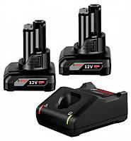 Комплект 2 акб Bosch GBA 12V 4.0Ah H + GAL 12V-40 Professional (1600A019R3SET)
