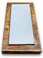 Камень для заточки на деревянной базе Atlantic F800, 150мм х 60мм (Atlantic)