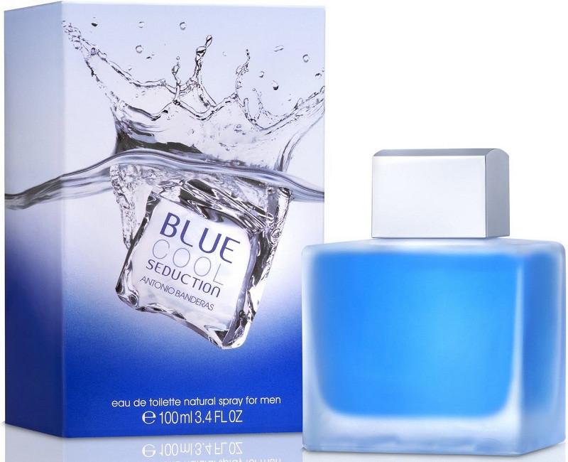 Чоловіча туалетна вода Antonio Banderas Blue Cool Seduction For Men (Блу Кул Седакшн Фо Мен) 100 мл